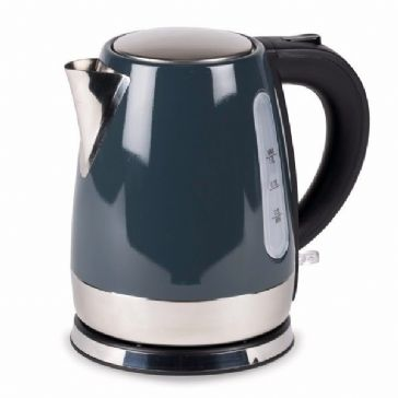 Kampa Dometic Cascade 1L Stainless Steel Electric Kettle - Grey